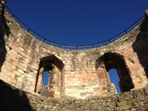 inside Cliffords Tower